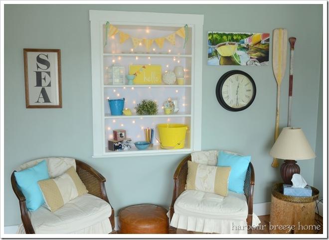 Spring wall arrangement