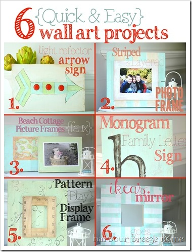 6 projects chart