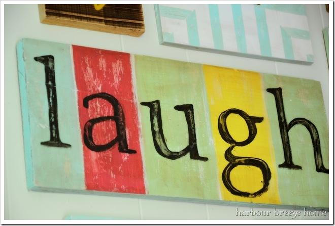 laugh sign