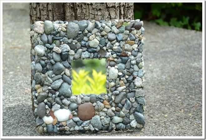 rock mosaic mirror final