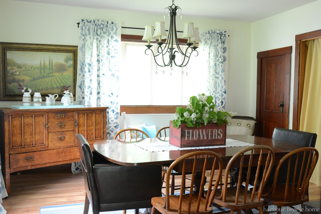 Rustic Farmhouse Dining Room Rustic Farmhouse Dining Room