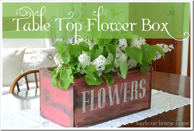 table top flower box ps