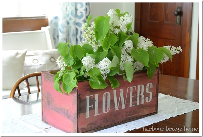 table top flower box