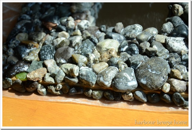 wash on rocks