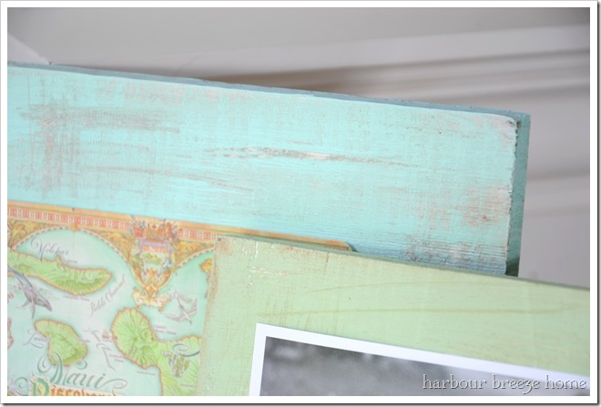 worn and weathered frames