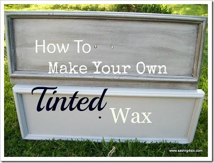 Tinted Wax