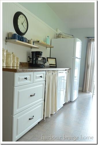 fabric cupboard doors