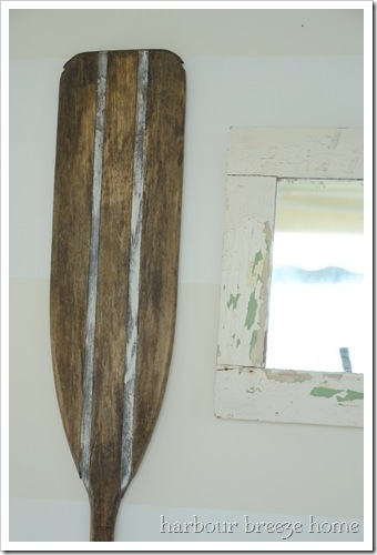finished paddle
