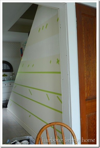 remove tape before paint dries