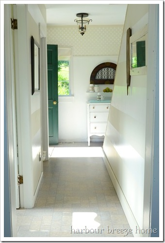 whole hallway from kitchen after 2 ps