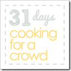 31 Days in the Camp Kitchen