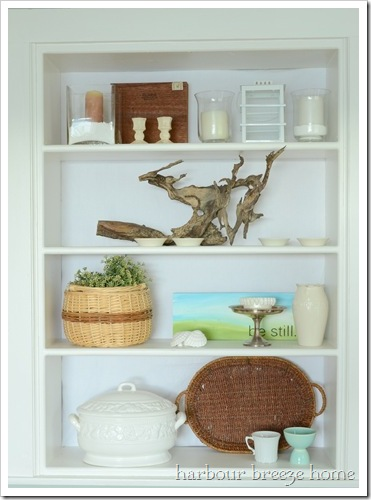 bookcase styling2