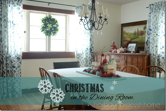 christmas in the dining room cover