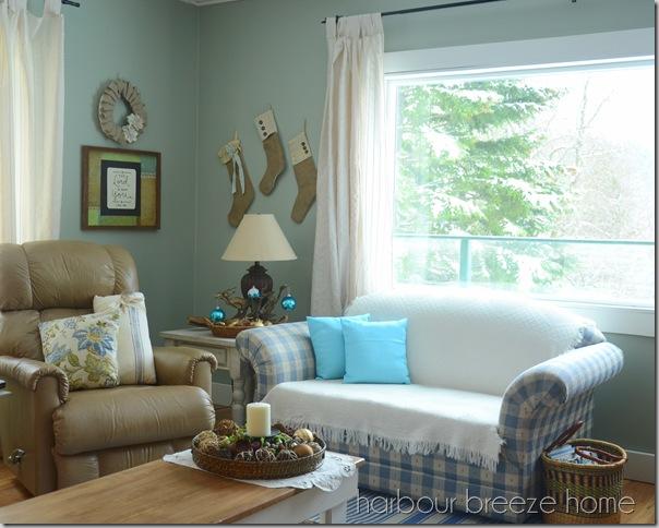living room stocking corner