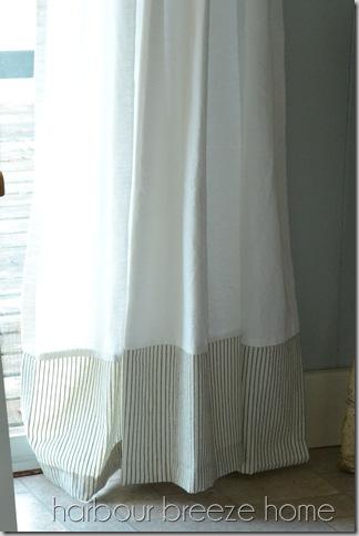 new curtain hem