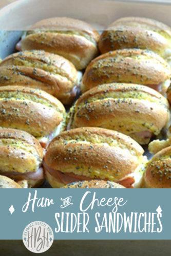 ham and cheese sliders pinterest