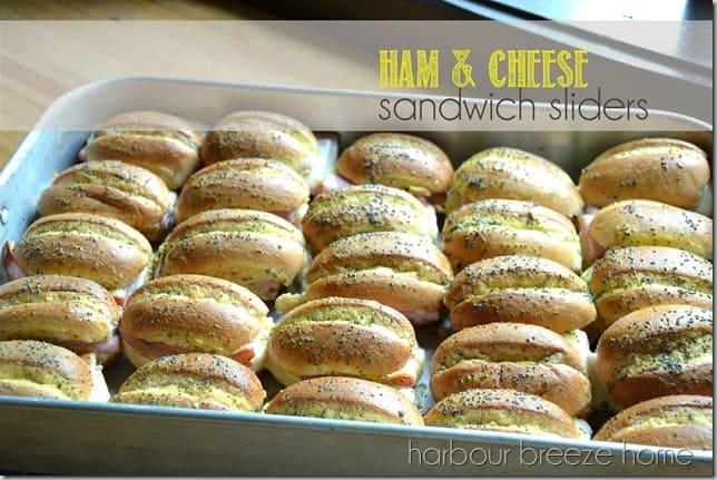 Ham & Cheese Slider Sandwiches