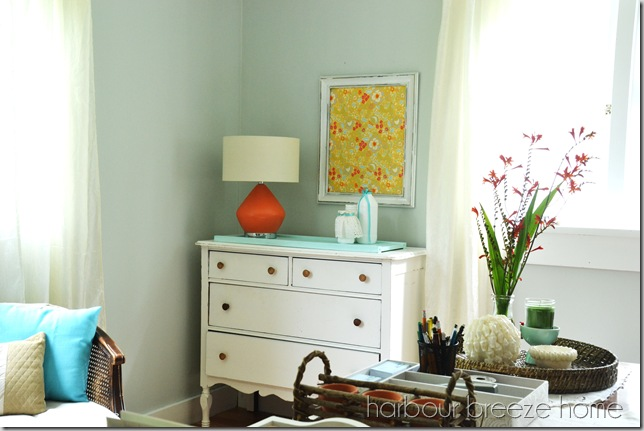dresser and orange lamp ps