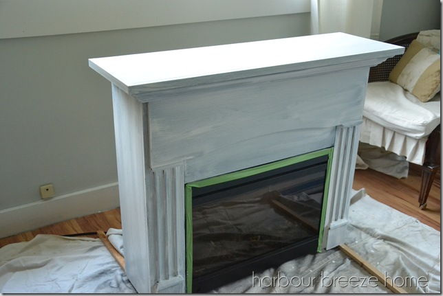 fireplace paint coat 1