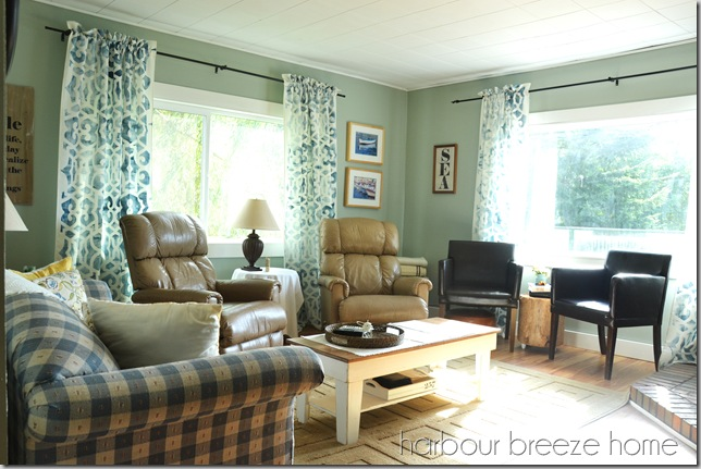 Living room before ps
