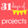 small 31 days button