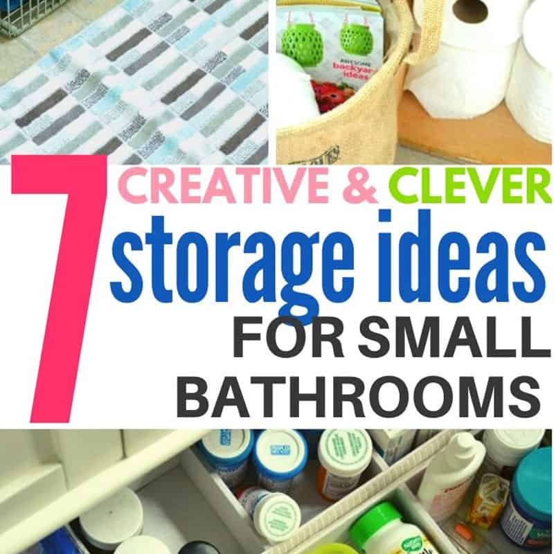 7 Tips for Small Bathroom Organization