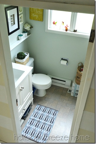 upper view of bathroom ps
