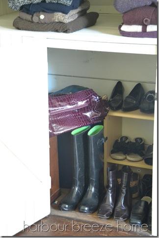 shoes and bag closet