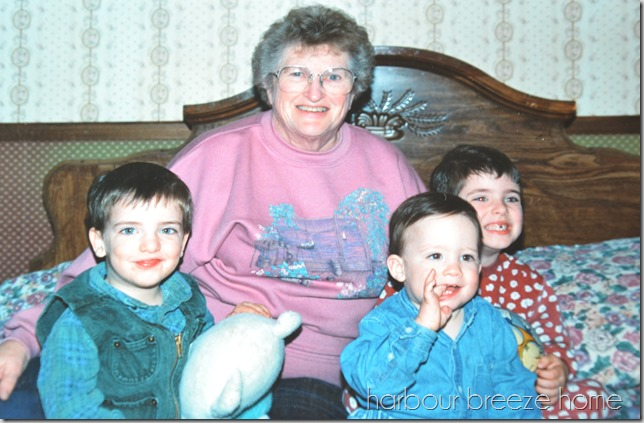 mom and the boys
