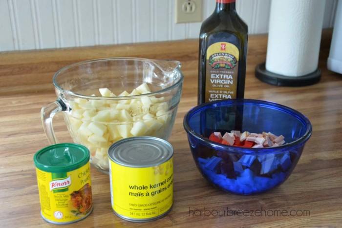 Potato Soup & Dumplings ~ simple comfort food!   harbourbreezehome.com
