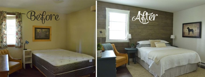 guest room transformations