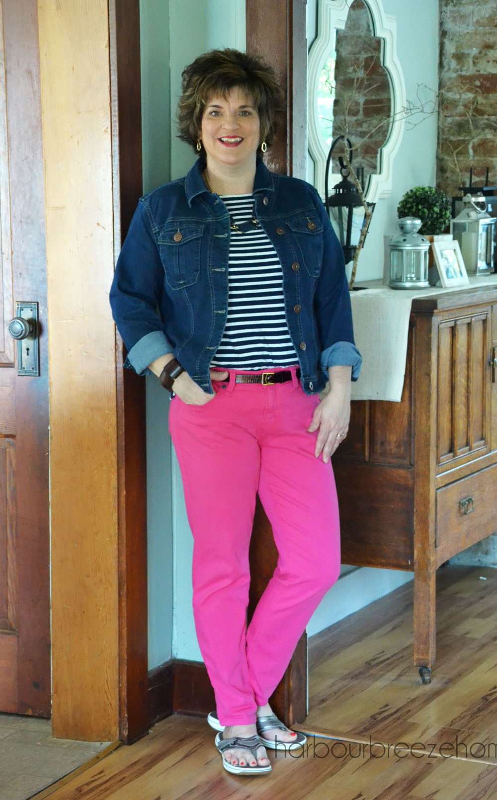 Fashion Over 40 ~ Colored Jeans