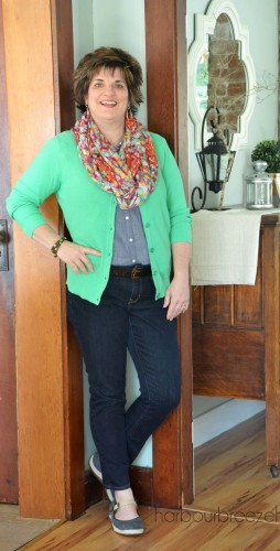 Fashion Over 40- Spring Green | harbourbreezehome.com