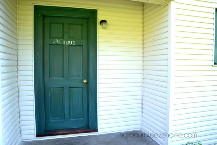Yellow Marigold Front Door