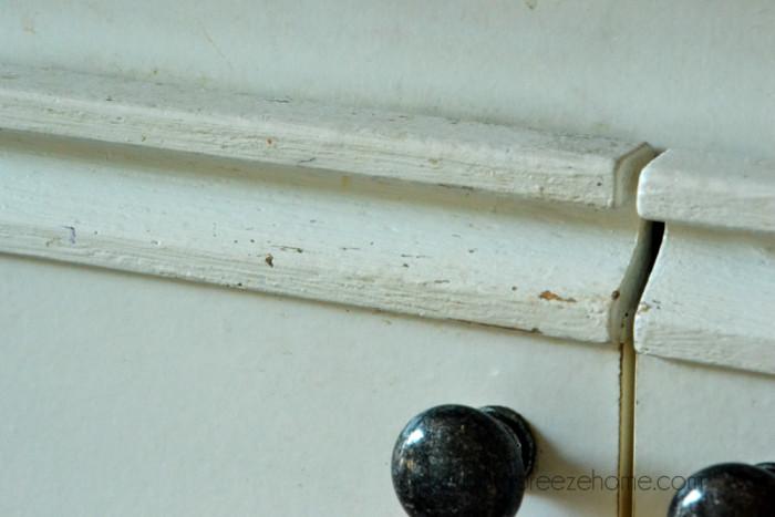 Painted European Cupboard Doors @ harbourbreezehome.com
