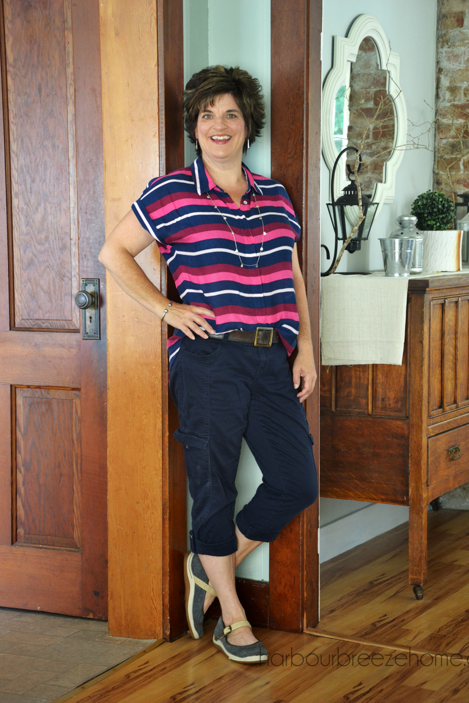 Fashion Over 40: The Half Tuck Shirt