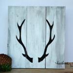 2 Ways to Make Painted Antler Signs