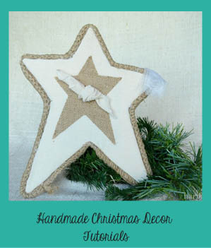 Handmade Christmas decor at harbourbreezehome.com