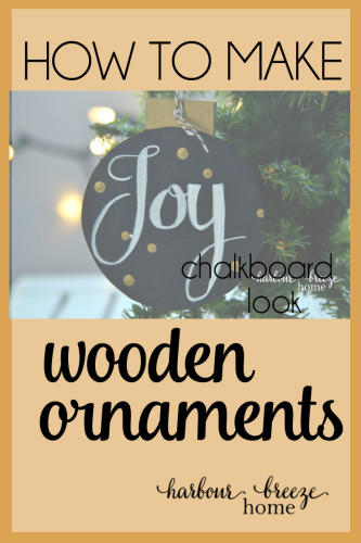Follow this simple step by step tutorial to create a unique handmade Christmas ornament. Click to harbourbreezehome.com for full details.