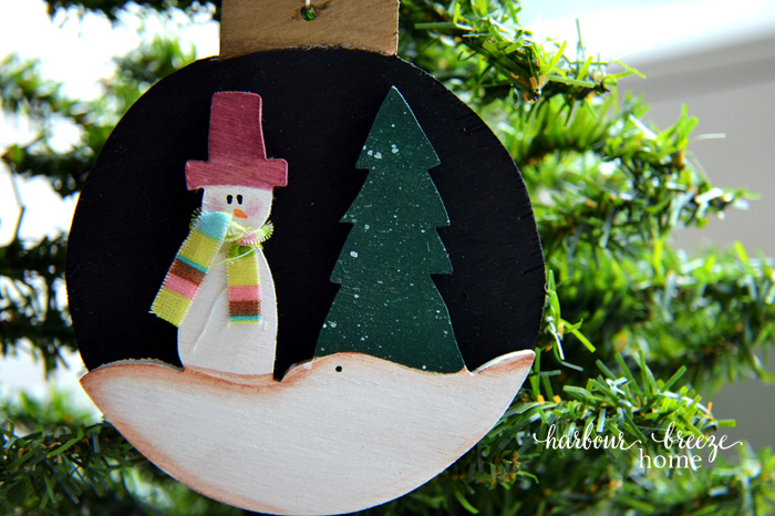 More Handmade Wooden Ornaments