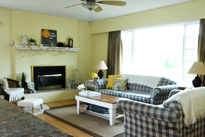New House Tour - Open Concept Living and Dining Room ...