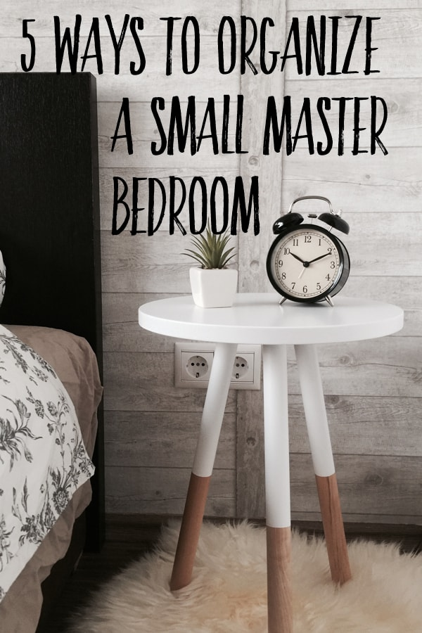 5 simple ways to organize a small master bedroom harbour breeze home