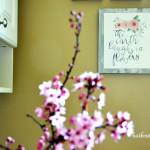 Spring Bathroom Decor (House Tour, Part 3)