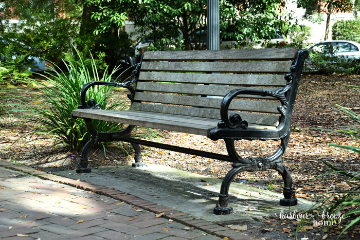 forest gump bench ps