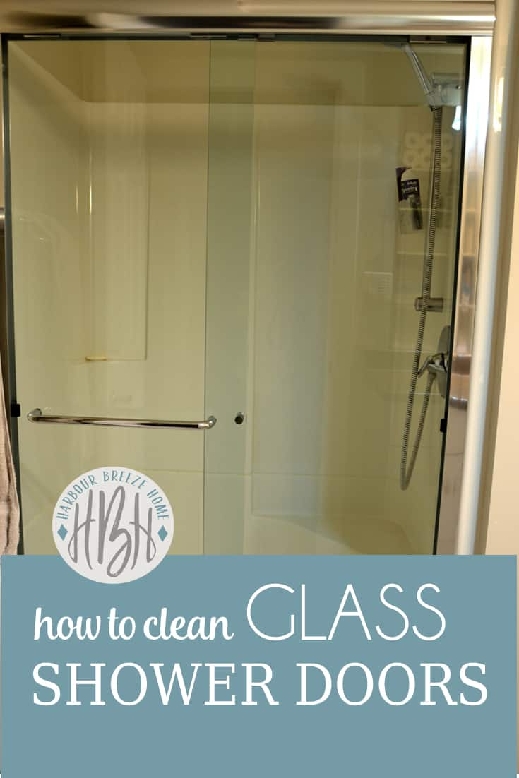 3 Ways To Clean Glass Shower Doors Harbour Breeze Home