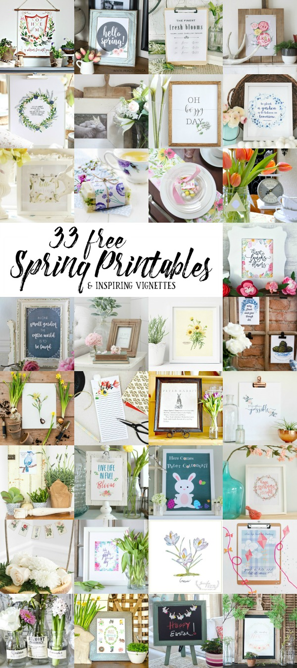 Ways to Use Free Printables in Your Home via harbourbreezehome.com