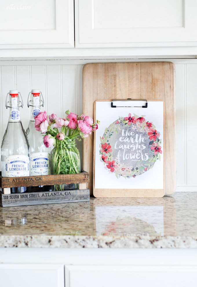 How to Use Free Printables in Your Home