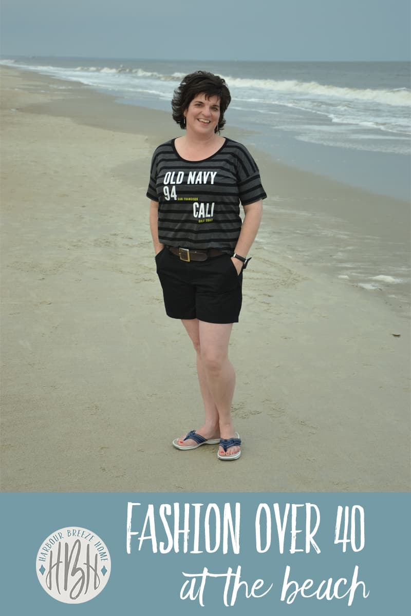 Fashion over 40 ~ at the beach