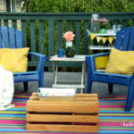 How to Create a Beach Cottage Deck (when you live in the city!)