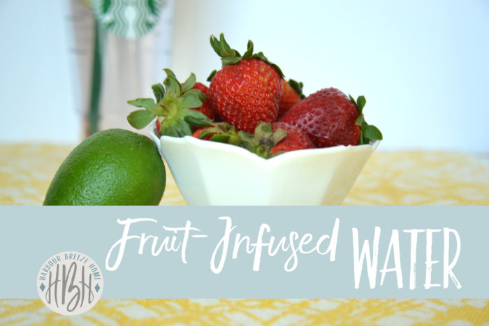 fruit infused water ~ helps suppress appetite